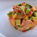 Wild Alaskan Salmon with Avocado & Mango Recipe | Five Senses Palate