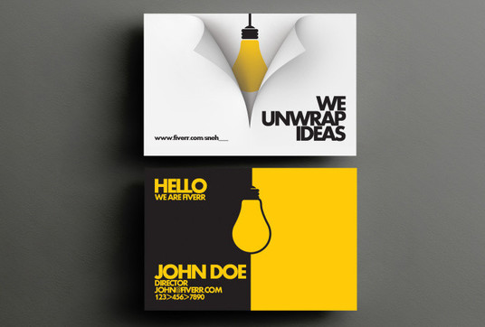 Design Amazing Business Cards for 10  GraphicsKnight  fivesquid