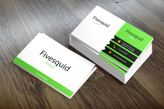 Do smashing Professional double sided business card for 5  lover8designs  fivesquid