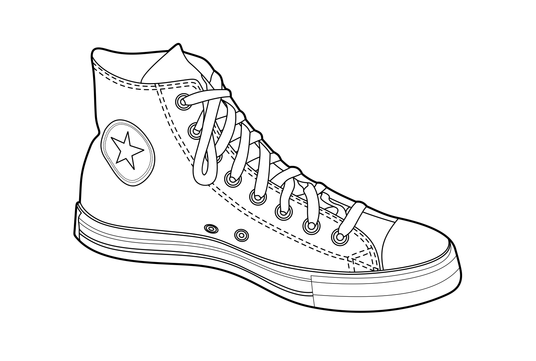 Redraw your product or any object to vector line art