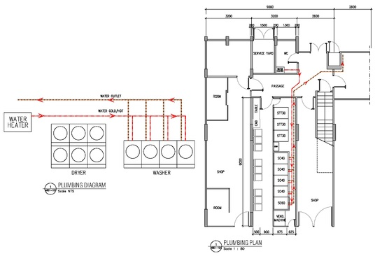 Draw Mechanical Electrical Plumbing and HVAC drawing for