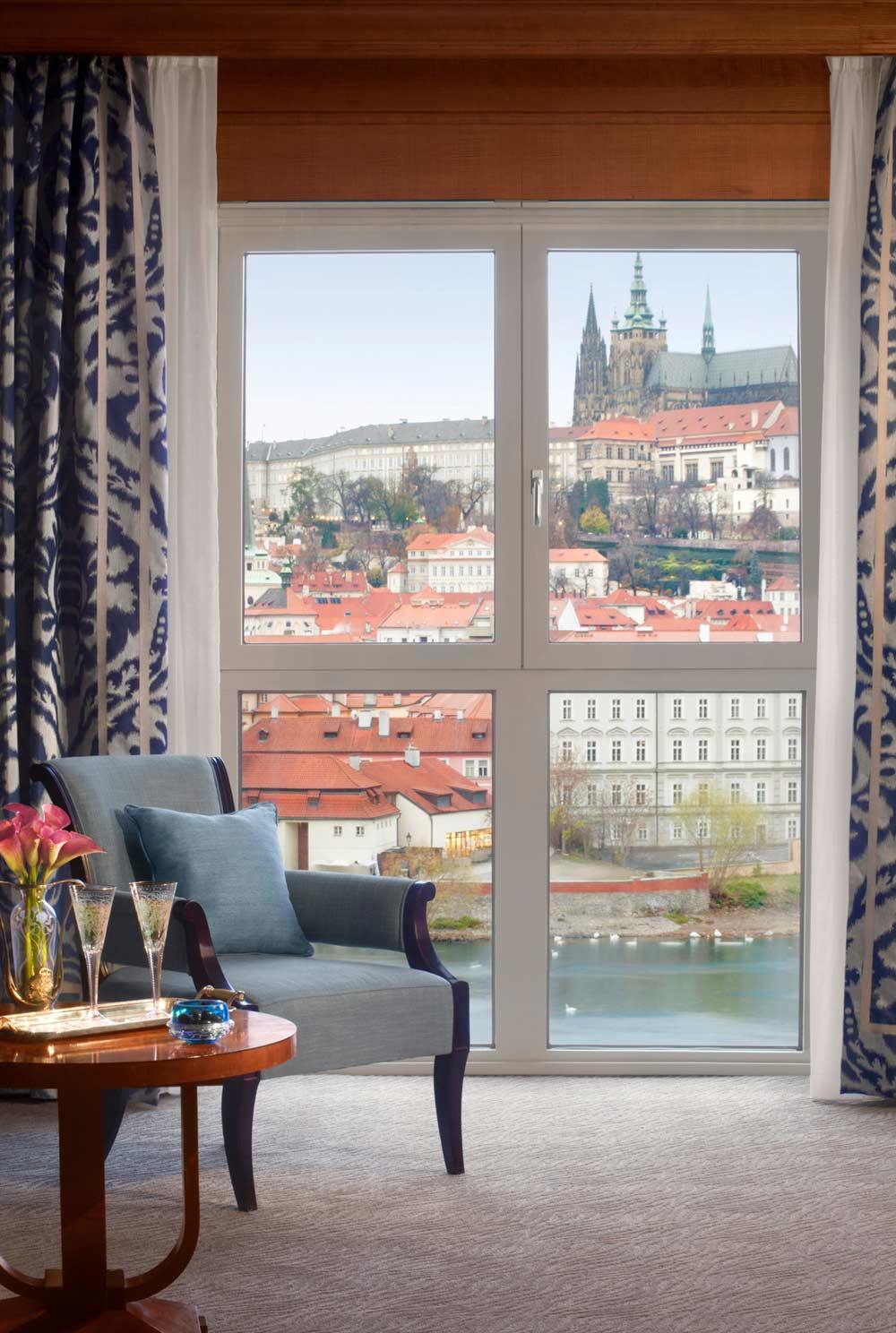 Night Opera With Four Seasons Hotel Prague Five