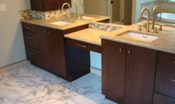 quartz bathroom remodel kirkland