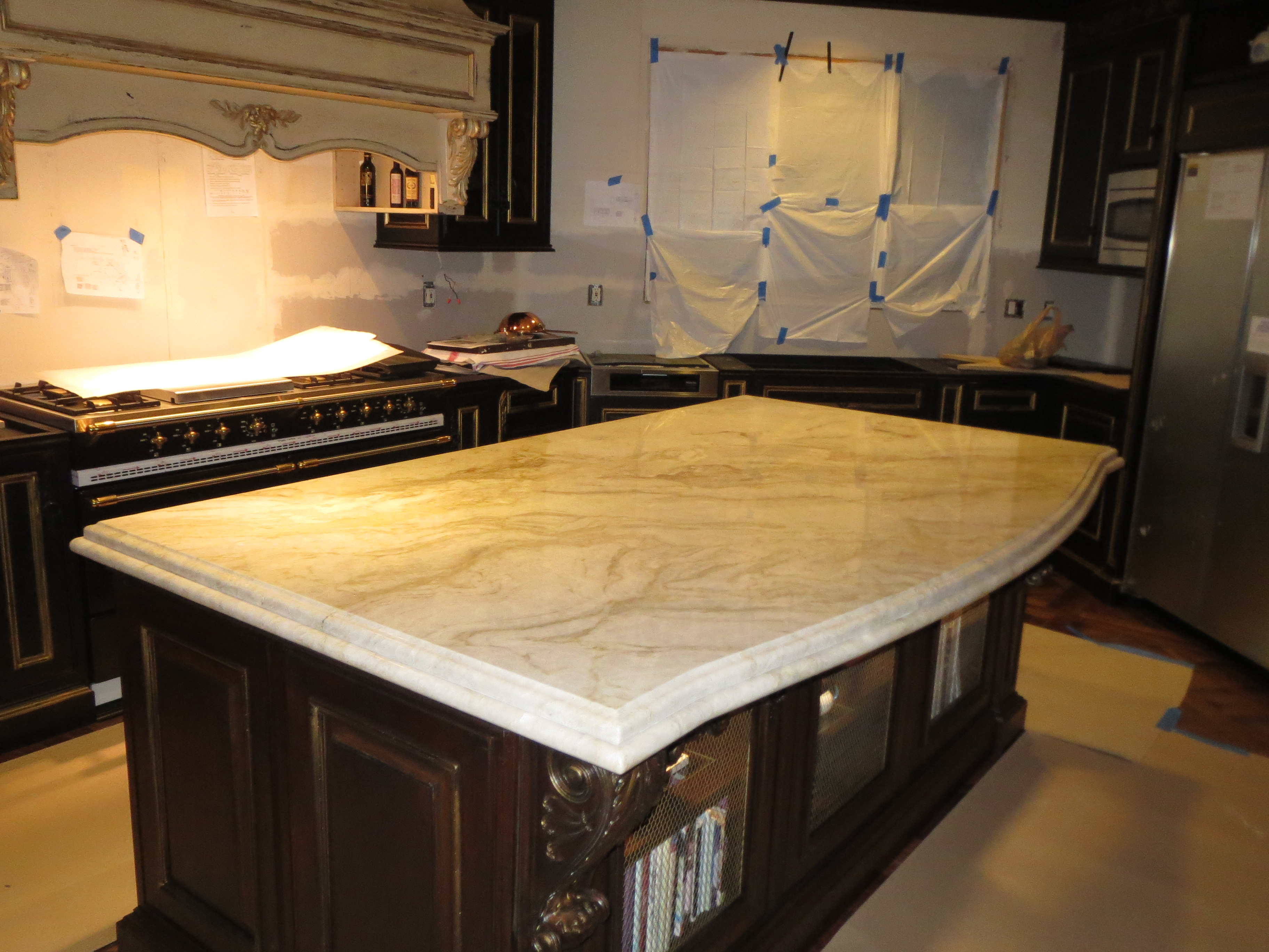 beautiful granite quartz remodel seattle wa
