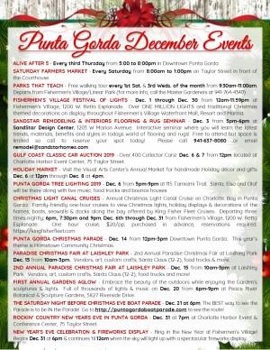 December Events in Punta Gorda