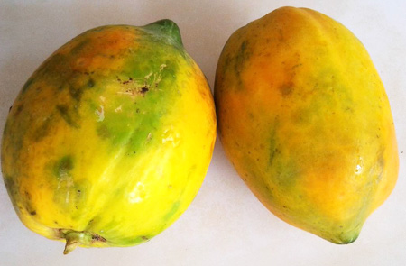 two-papayas