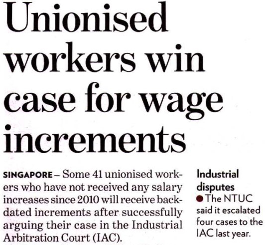 union-wage-increment