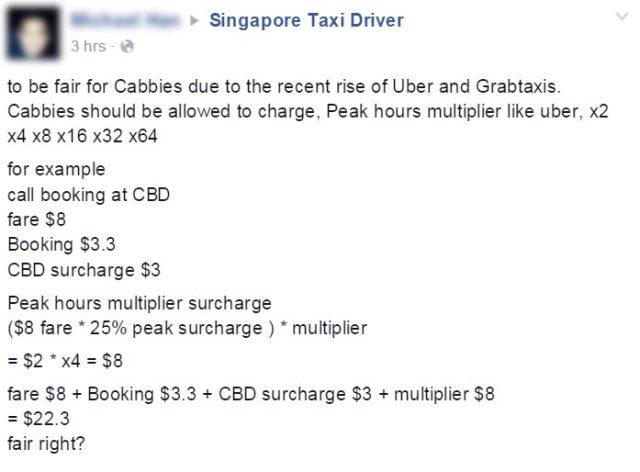 SingaporeTaxiDriver