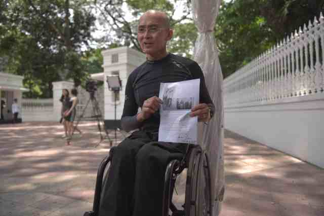 Dr William Tan and SR Nathan
