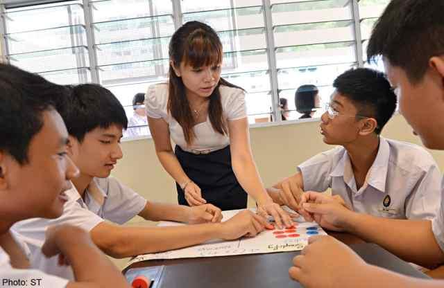Teachers in Singapore