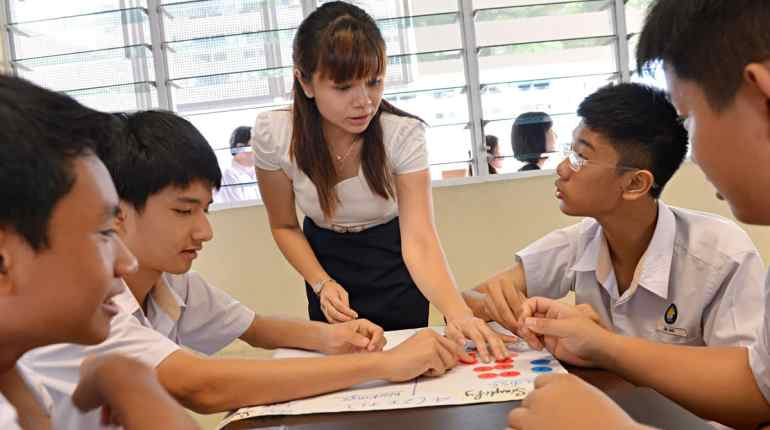 Teachers in Singapore