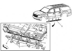 Chevrolet Suburban Yukon 2007 2008 2009 Repair Manual
