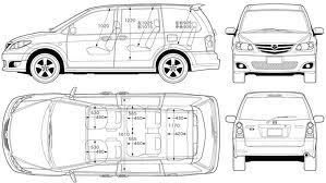 2003 2004 2005 2006 Mazda Mpv Factory Service Manual