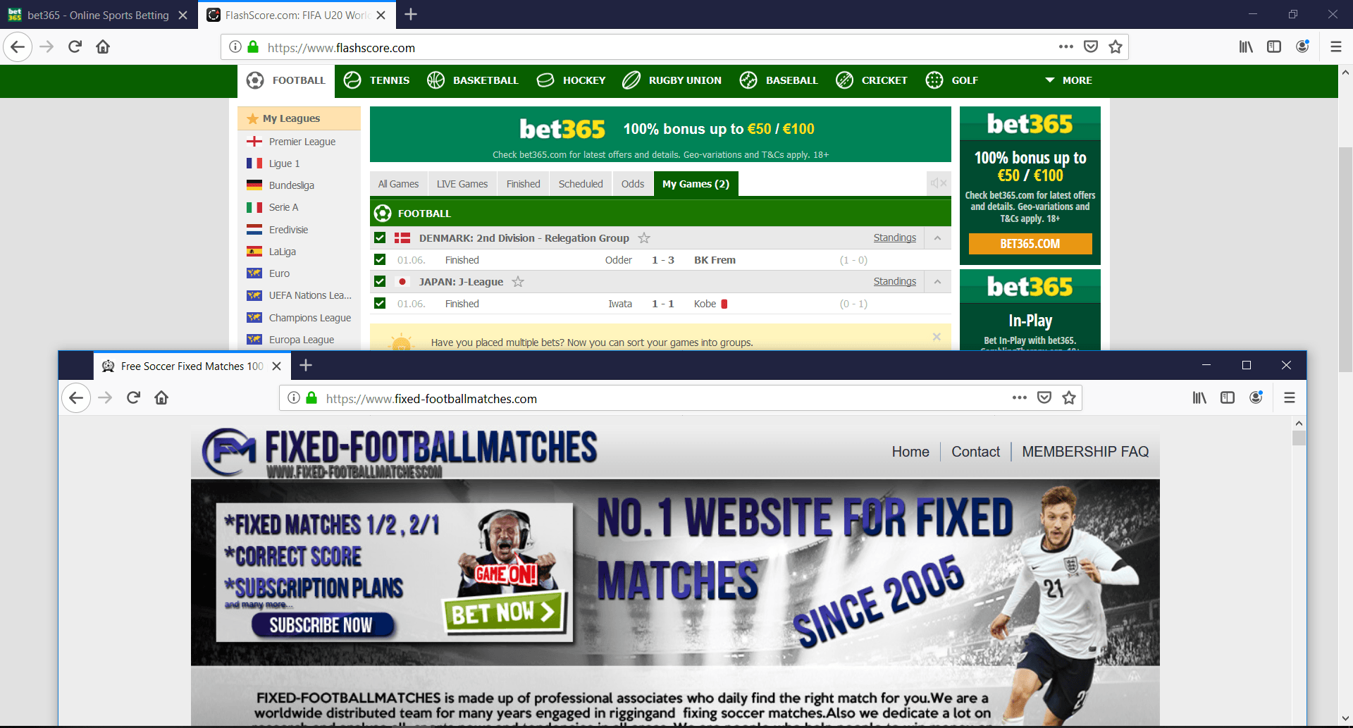 fixed matches 100 sure free Archives -