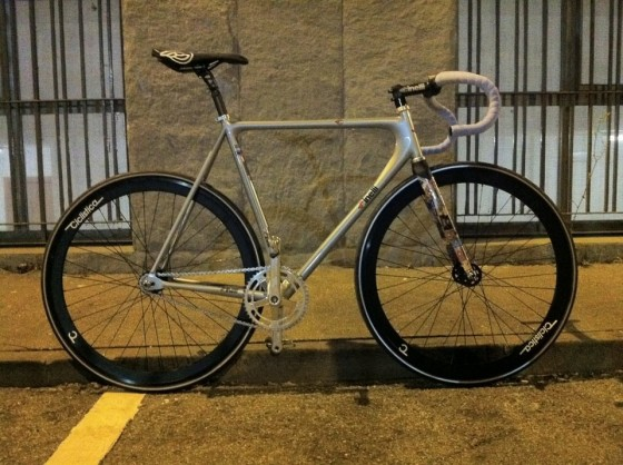 Trick with Cinelli Laser