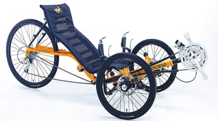 Artifice Adult Recumbent Tricycle three wheel recumbent bike