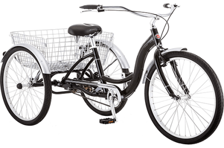 3 wheel bikes for adults with gears