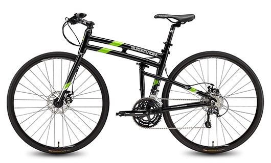 Montague New Boston Folding 700c Pavement Hybrid Bike