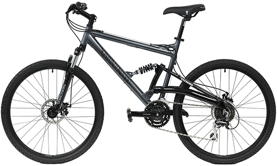 Gravity 2020 FSX 1.0 Dual Full Suspension Mountain Bike