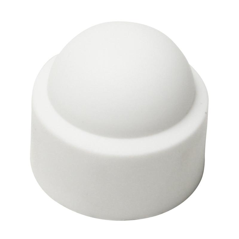White Plastic Bolt Cover Caps  Bolt Caps  Screw Cups  Caps  Fixings  Screws Nails