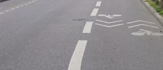 bande cyclable bidirectionnelle Lille
