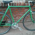 Single Speed à Lille - Vélo fini