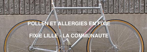 Fixie - Allergies au pollen