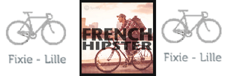 Playlist Spotify French Hipster - Fixie Lille