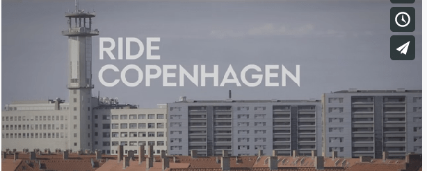 Copenhagen bike messenger - Livreur/postier à Copenhague en fixie