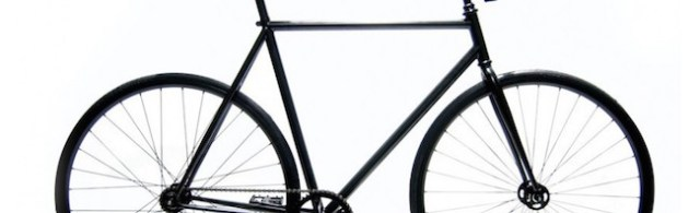 Exemple de fixie noir : simple et design