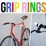 Vélo coloré à votre image grâce à Grip Rings