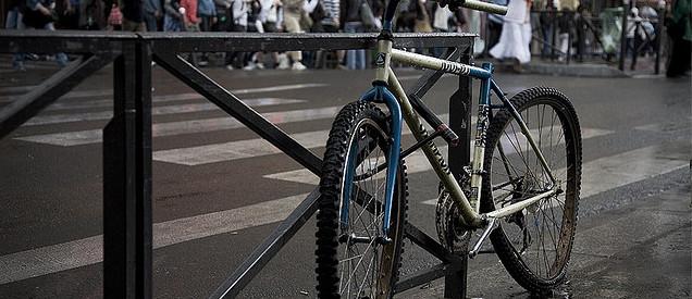 Antivol vélo U - Sécuriser le VTT