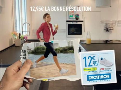 La bonne résolution Decathlon : le running