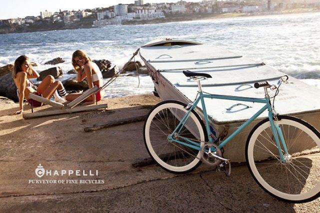 Campagne Chappeli Cycle - Eté 2013 - Bateau, mannequins & vélo