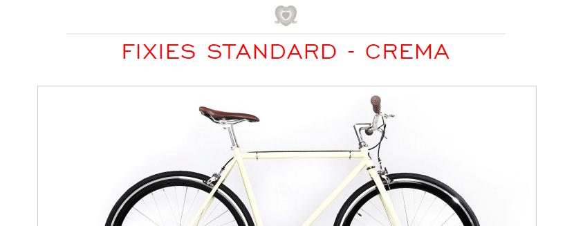 Fixie Cream par Chappelli Cycle