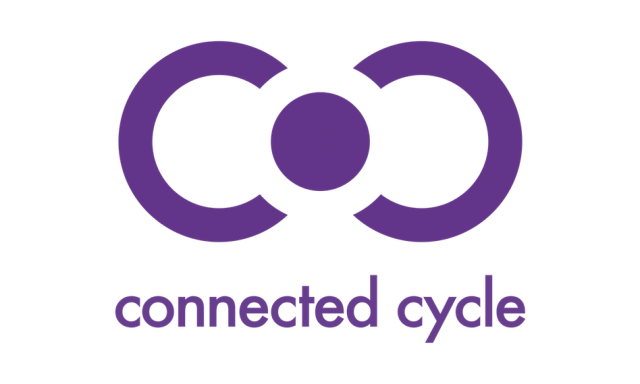 Le logo de Connected Cycle