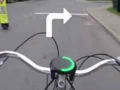 Smarthalo - gadget a fixer sur votre guidon de fixie