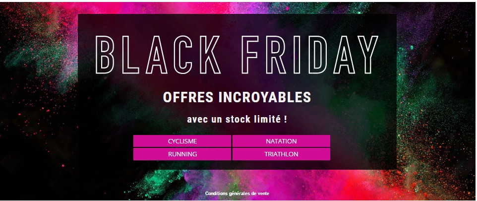 Black Friday chez LeCylo.com
