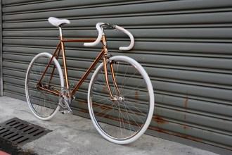Bike ID copper frame