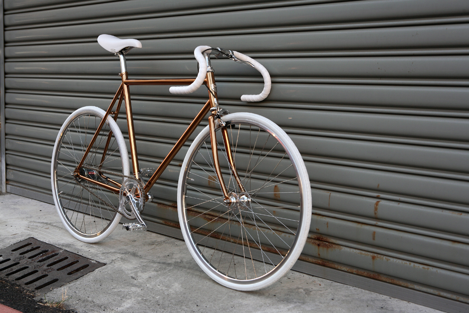 Bike ID copper frame