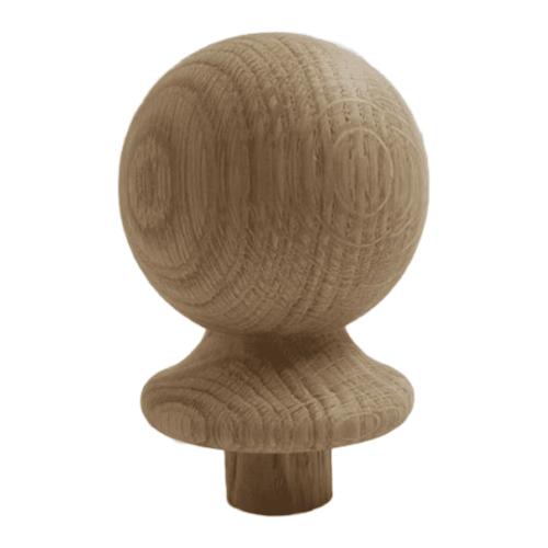 Flat Newel Cap Solid Oak