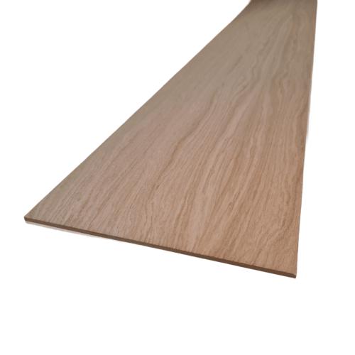 Oak veneered staircase stringer