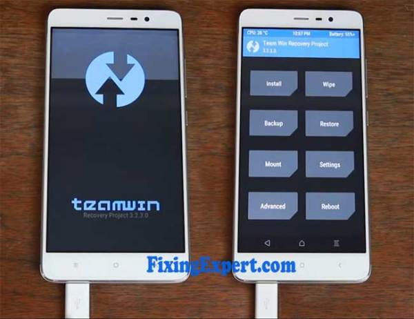 Successfully Install twrp on Xiaomi redmi Note 3 by using Flashify