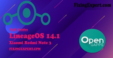 How to Install Best Custom ROM [LineageOS 14.1] on Xiaomi Redmi Note 3 without PC