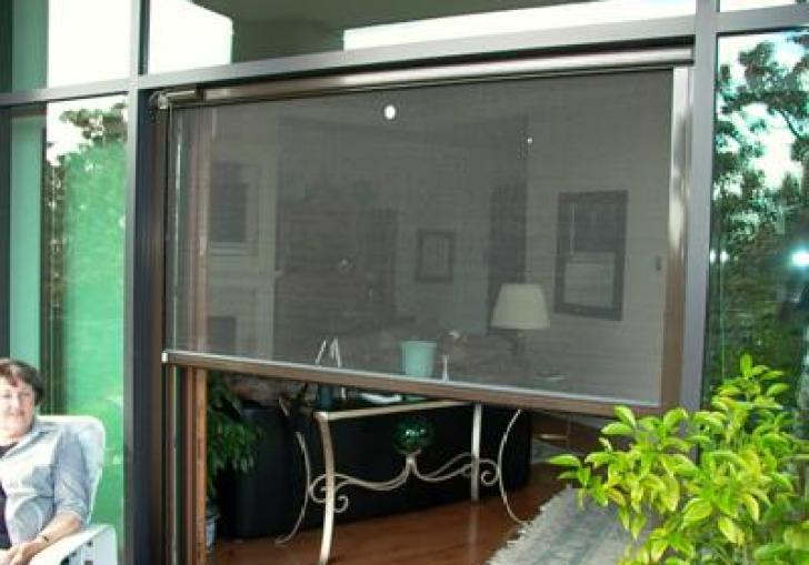 Garage Door Screen Motorized