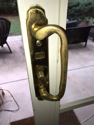 Need replacement patio door handle