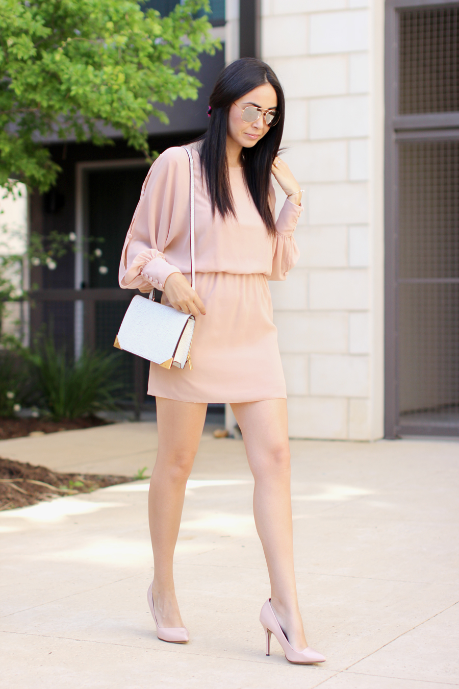 FTT-BLUSH-DRESS-NUDE-HEELS-MELIE-BIANCO-AUSTIN-FASHION-BLOGGER-7