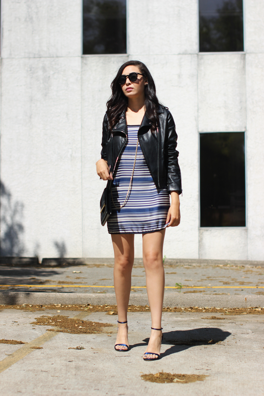 FTT-STRIPED-DRESS-LEATHER-JACKET-BCBG-AUSTIN-BLOGGER-5