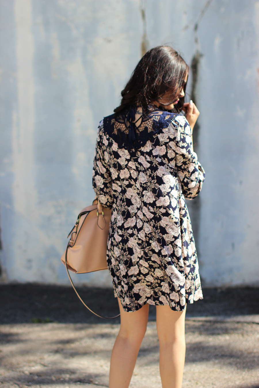 FTT-PINK-AND-SILVER-BLUE-HIGH-NECK-FLORAL-DRESS-7