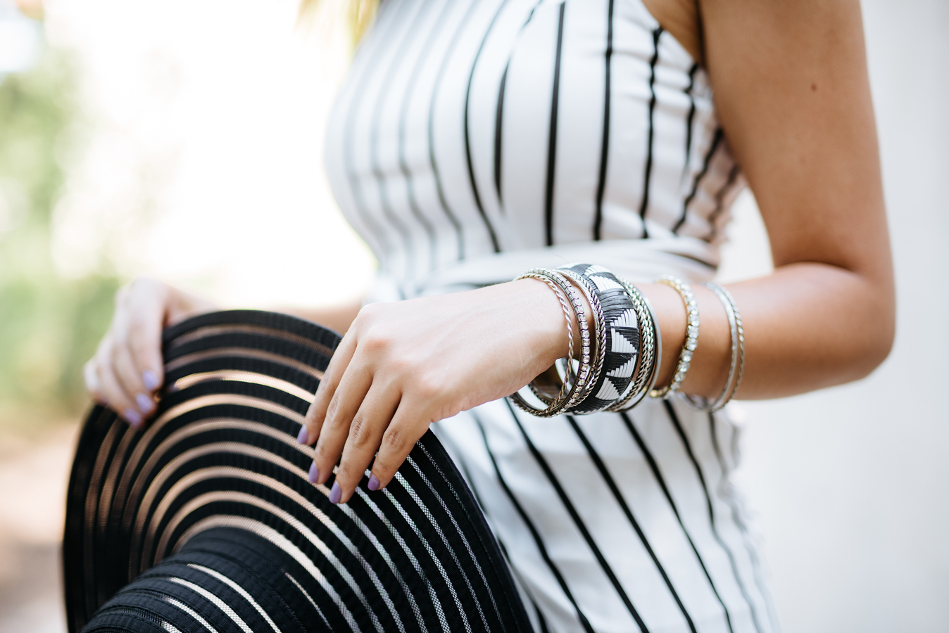 FTT-BLACK-WHITE-STRIPES-SUMMER-CHIC-ZAFUL-